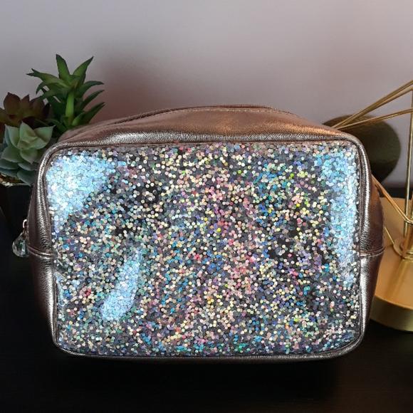 SALE 2 for $7: Glitter Cosmetics Bag